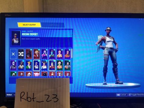 Fortnite Account Recon Expert Galaxy Skin Ghoul Trooper