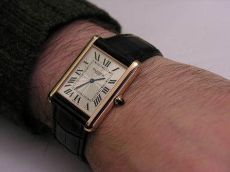 Cartier Tank Watch Guide — Gentleman's Gazette   Cartier