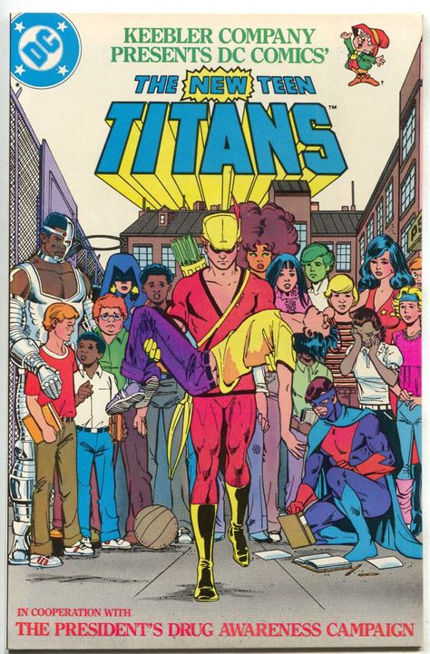 Let's teen titans drug awareness think, that