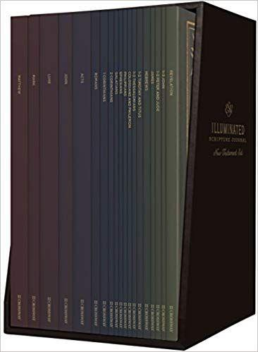 ESV Illuminated Scripture Journal: New Testament Set: ESV