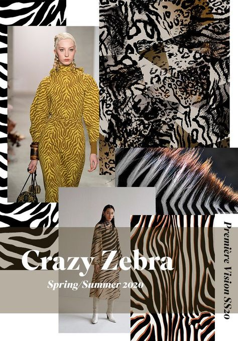 Première Vision Spring/Summer 2020 Print & Pattern Trend Report#Fashion#Trends