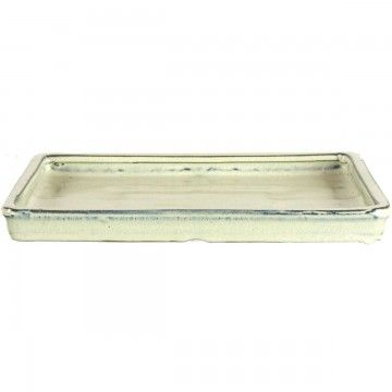 Drip Tray For Bonsai Pots 24 5x19 5x2cm White Rectangular Bonsai