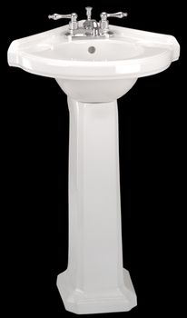 Portsmouth Corner Pedestal Sink From Renovatoru0027s Supply Half Bath