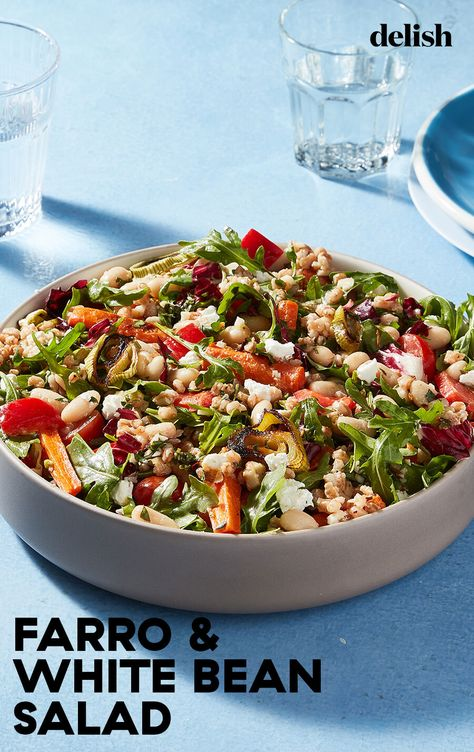 Anything Goes Grain Salad is a vegetarian dream meal.