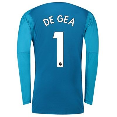new style 14f91 9f8db Manchester United Away Goalkeeper Shirt 2018-19 with De Gea ...