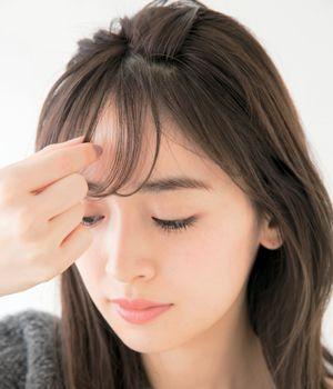 シースルーバングで韓国女優風な前髪 失敗知らずの切り方 ピンで作るやり方も 美的 Com 前髪 シースルー ミディアム 前髪あり 前髪アレンジ ロング