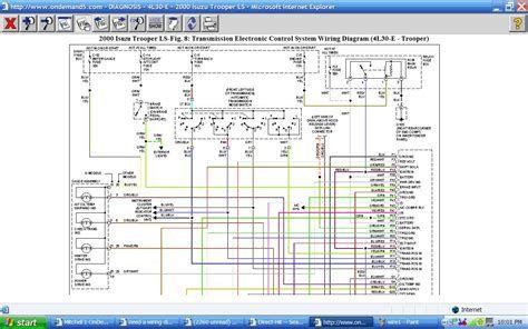 2000 isuzu pick up wiring diagram headlight wiring diagram
