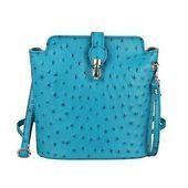 Italy Ladies Leather Bag Shoulder Bag Shoulder Bag Crossbody Ostrich-Embossed: Date:…