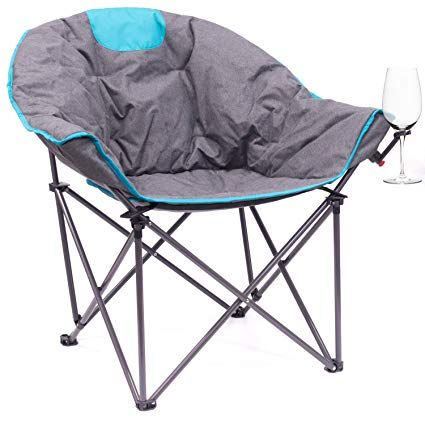 Outdoor Creative Chair In 2020 Outdoor Folding Chairs Moon Chair Bucket Chairs