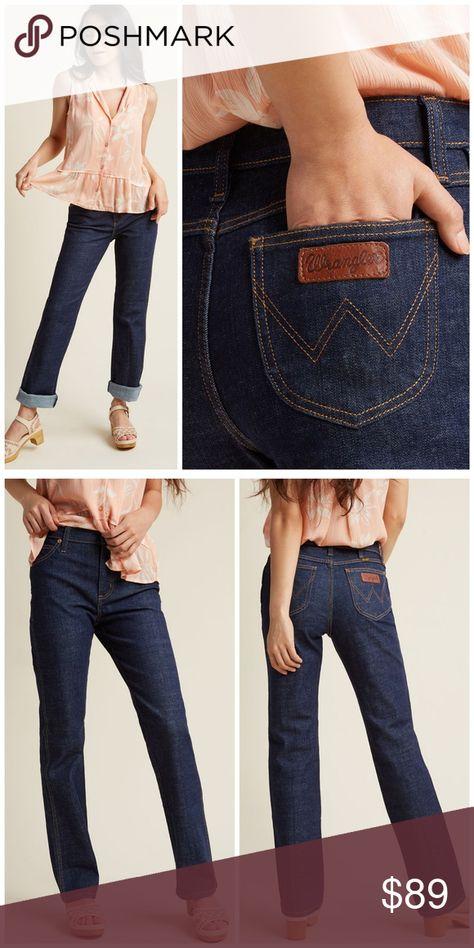 Wrangler Go-To Straight Leg Jean
