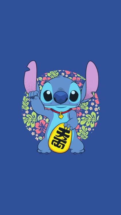 Stitch Lockscreen Stitch Cartoon Cute Stitch Disney Wallpaper