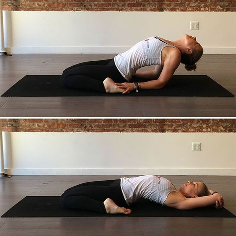8 yoga poses to release the tension in your hips after a