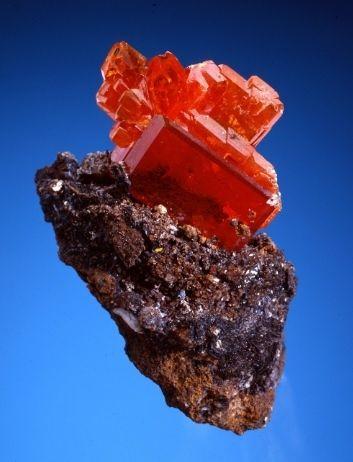 Wulfenite | Rock Me | Gems, minerals, Minerals, gemstones, Crystals