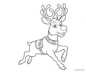 Free Printable Reindeer Coloring Pages For Kids Cool2bkids Bear Coloring Pages Zebra Coloring Pages Tangled Coloring Pages