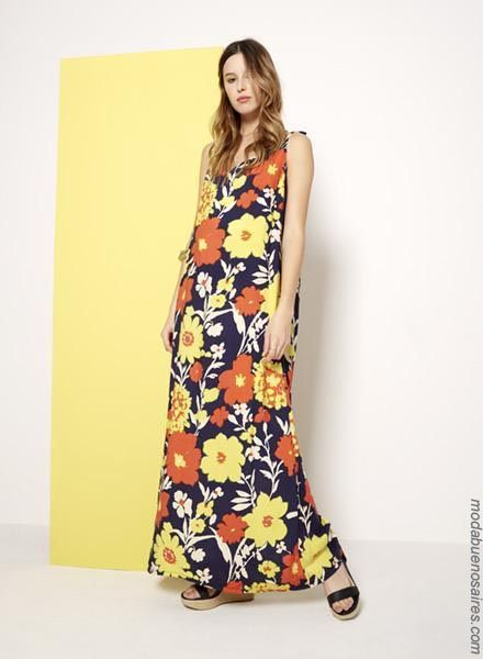 Moda Primavera Verano 2019 Urbana Y Femenina Vestidos