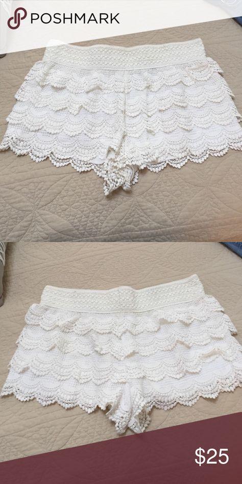 American rag lace shorts American rag lace shorts American Rag Shorts