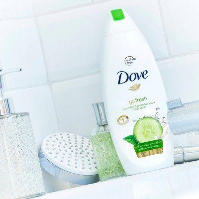 Dove Go Fresh Body Wash Cucumber And Green Tea 22 Oz Twin Pack Wash Cucumber Body Green Tea Body Wash Body Wash Dove Body Wash