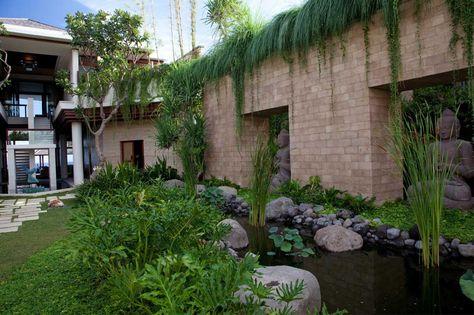 image for pagar rumah minimalis batu alam - ext0092