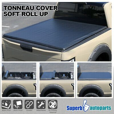 Fits 2015-2019 Ford F150 Lock Hard Solid Tri-Fold Tonneau Cover 8ft Bed 96/""