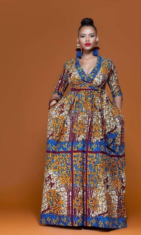 Modern African Clothing Dress
