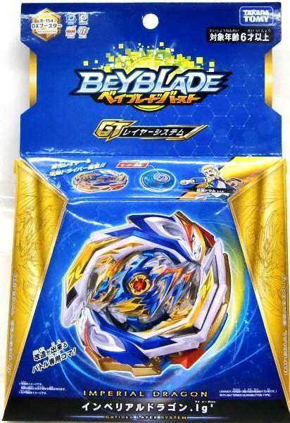 Takara Tomy Beyblade Burst GT B-154 DX Booster Imperial Dragon Ig/'
