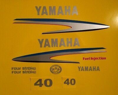 Marine Grade Decals 60hp Yamaha Outboard Motor Decal Kit 6hp 6.0 Kit