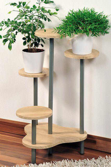 Stojak Na Kwiaty Doniczkowe Kwietnik Z 4 Polkami Plant Stand Plant Decor Indoor House Plants Decor