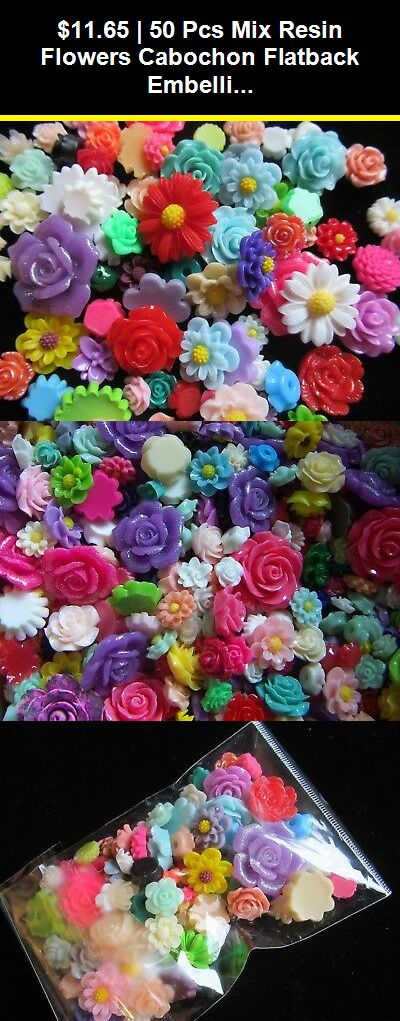 Flower Alloy DIY FlatBack Rhinestone Cabochon  Embellishment Bridal Bouquet