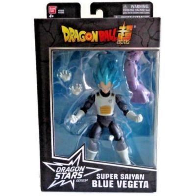 Dragon Stars Series 4 ~ SUPER SAIYAN BLUE SSGSS VEGETA ACTION FIGURE ~ DBZ