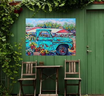 Market Days In 2020 Outdoor Wall Art Weather Art Wall Art Prints