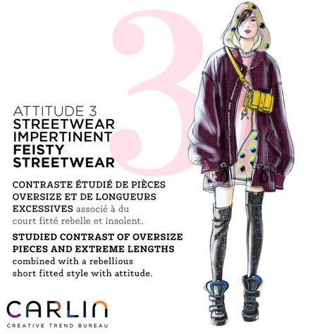 FASHION VIGNETTE: TRENDS: CARLIN CREATIVE - WOMEN'S ATTITUDE TRENDS . FW 2018-19