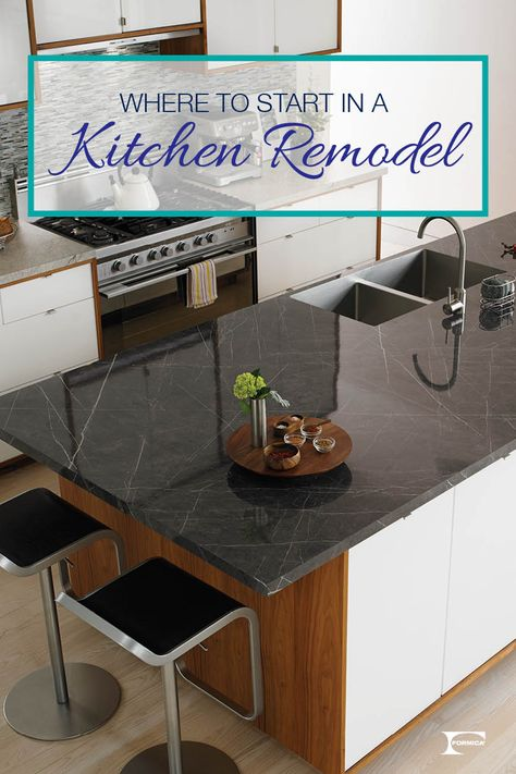 Planning a kitchen remodel can be overwhelming. We'll help you get started! Click through for tips and advice for a smooth renovation.