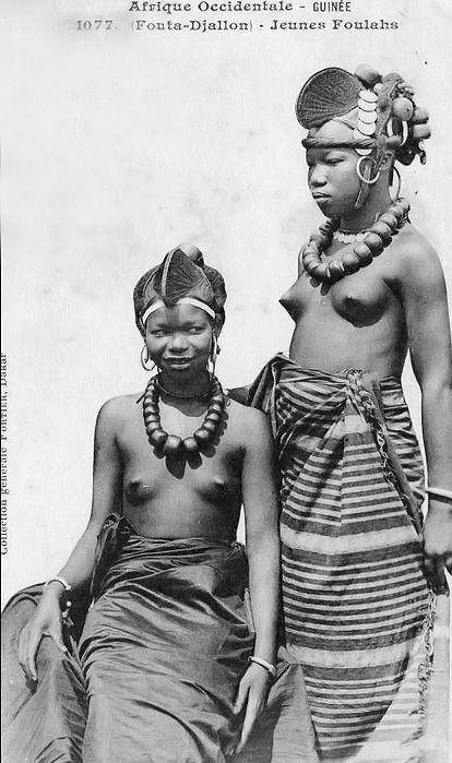 Afrika Frauen nake und Männer