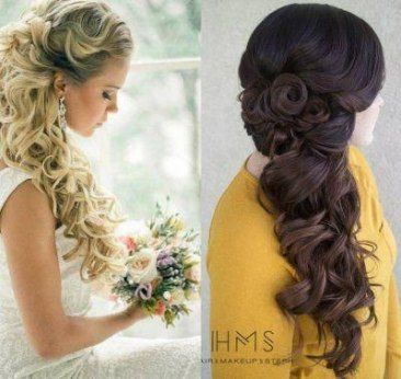 Hairstyles Half Up Half Down Side Wedding 27 Ideas Side Hairstyles Wedding Hair Side Wedding Hairstyles Half Up Half Down