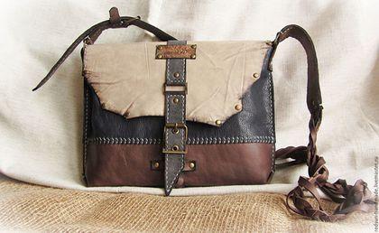 07f41531a239 Женские сумки ручной работы. Ярмарка Мастеров - ручная работа. Купить Сумка  кожаная ручной работы Плетёнка. Handmade. Комбинированный
