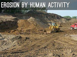العوامل و الانشطه التي تؤدي الي تدهور التربة و طرق حماية التربة من الانجراف Https Ift Tt 2fqhlor Human Activity Activities Erosion