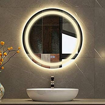Amazon Co Jp Mirahope 洗面 鏡 ミラー 洗面所 浴室鏡 洗面台 照明