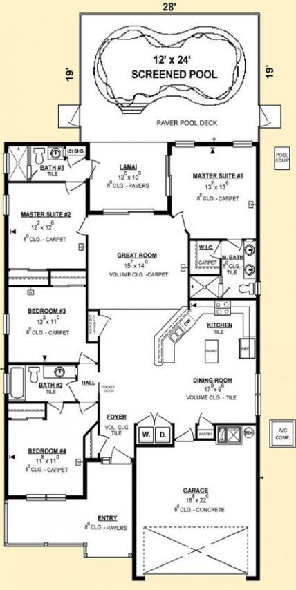 House Dream Plans Luxury Master Suite 29 Super Ideas House Layout Plans Modular Home Floor Plans Luxury House Plans