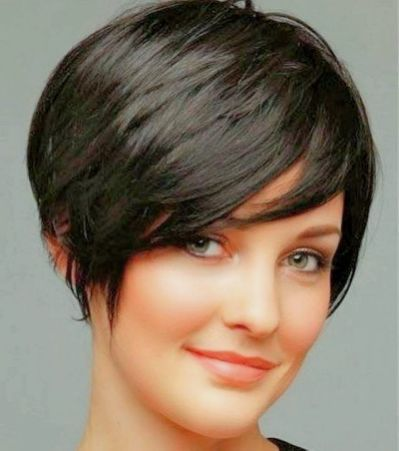 85 Best Haircuts Images On Pinterest Pixie Haircut For Round Faces Long Pixie Hairstyles Longer Pixie Haircut