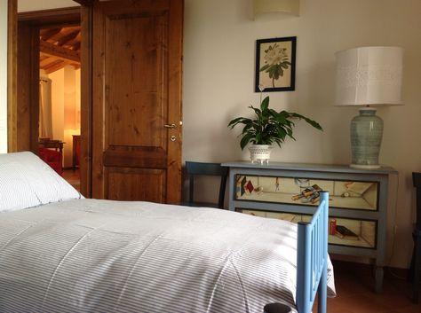Camera da letto appartamento al primo piano