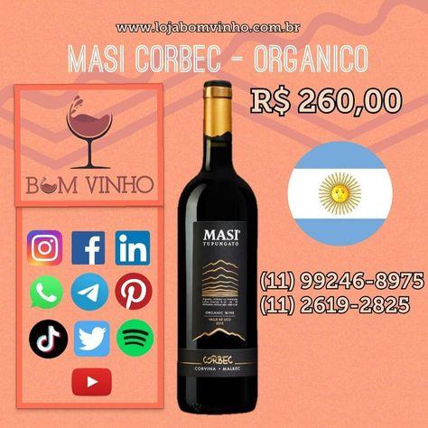 Vinho Orgânico #vinhos #vinhotinto #vinhosespanhoes #vinhosbrasileiros #espumantes #vinhoemcasa #emcasa #secuida #emfamilia #parabebercomamigos #vinhobranco #vinhoverde #lojabomvinho #lojabomvinhofarialima @lojabomvinho
