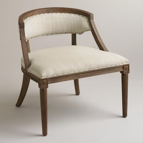 One of my favorite discoveries at WorldMarket.com: Natural Herald Chair #RebekahLinkowski