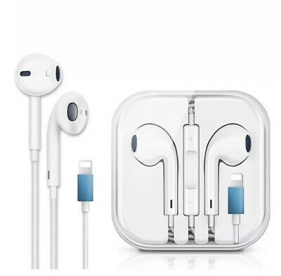 New For Apple Iphone 7 8 Plus X Xs Max Xr Wired Headphones Headset Earbuds Gift Headsets Earbuds Wired Headphones
