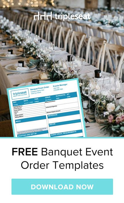 Creating Banquet Event Orders Proposals And Contracts For Your