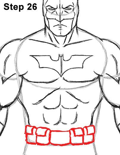 Batman Full Body Drawing 26 With Images Batman Drawing Joker