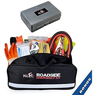 Auto Emergency Kit 125 Piece Multipurpose Emergency Pack Roadside Assistance New