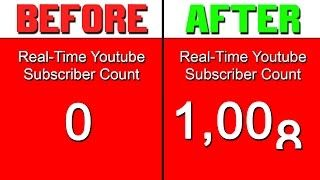 How To Get Your First 1000 Subscribers Fast Watch Until The End Chaos Youtube Subscribers Free Youtube Youtube