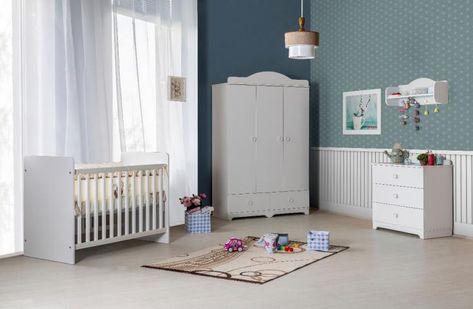 Baby En Peuterbed.Babykamer Latte Wit Babybed Baby Kamer Ledikant Jongens Peuterbed