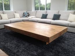 Image Result For Oversized Rectangular Coffee Table Leather