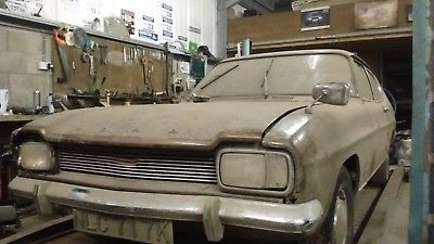 Ebay Ford Capri Mk1 Barn Find Classiccars Cars